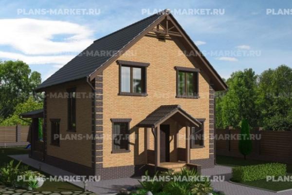 Проекты домов площадью до 100 м2