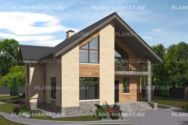 Проекты домов площадью 150 - 200 м2