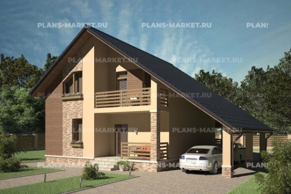 Проекты домов 10 x 10 метров