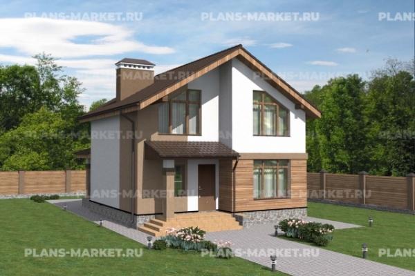 Проекты домов площадью 100 - 150 м2