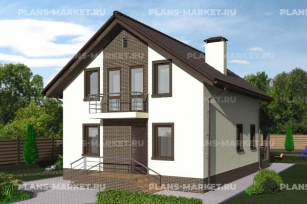 Проекты домов 10 x 8 метров