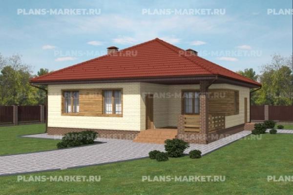 Проекты домов 12 x 12 метров