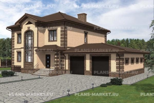 Проекты домов площадью более 300 м2