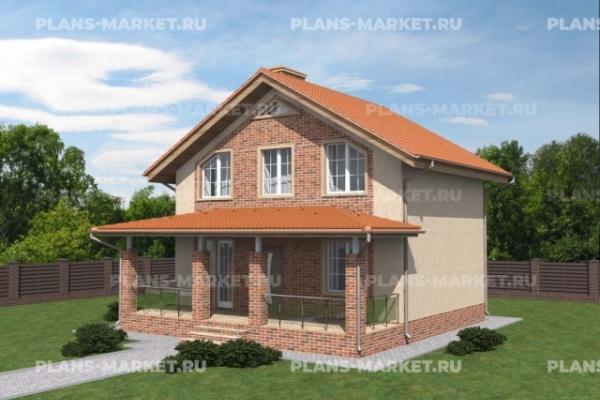 Проекты домов 8 x 8 метров