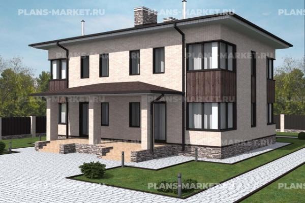 Проекты домов площадью 200 - 250 м2