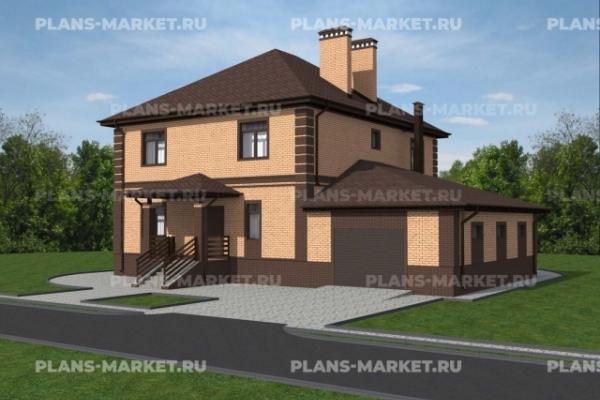Проекты домов площадью 250 - 300 м2