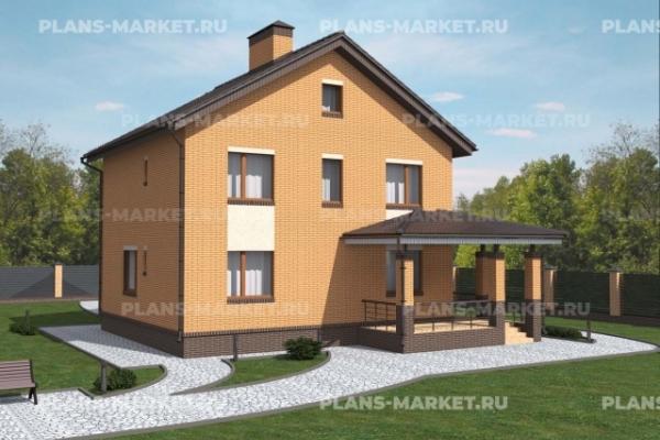 Проекты домов на пять спален