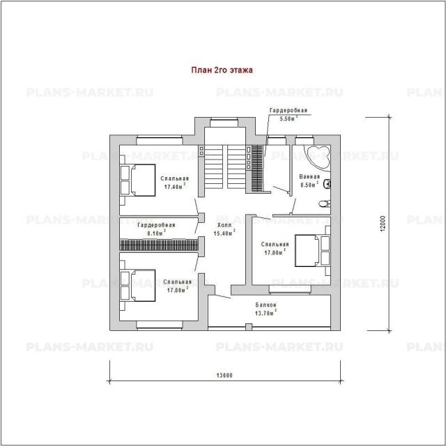 Готовый проект загородного дома Гс-184-2