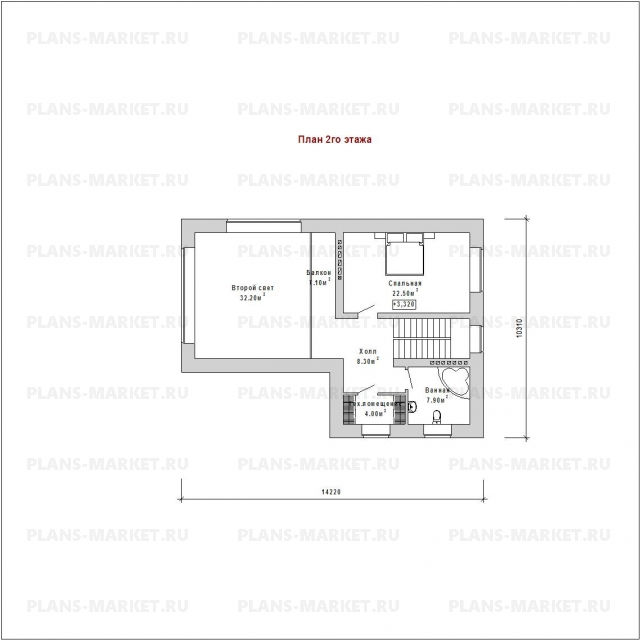 Готовый проект дома К-206