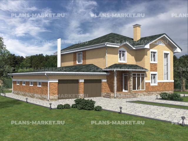 Готовый проект загородного дома Гс-279