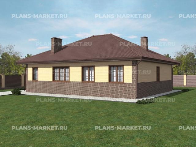Готовый проект загородного дома Гс-111