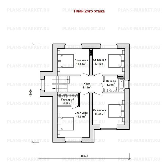 Готовый проект загородного дома Гс-186-1