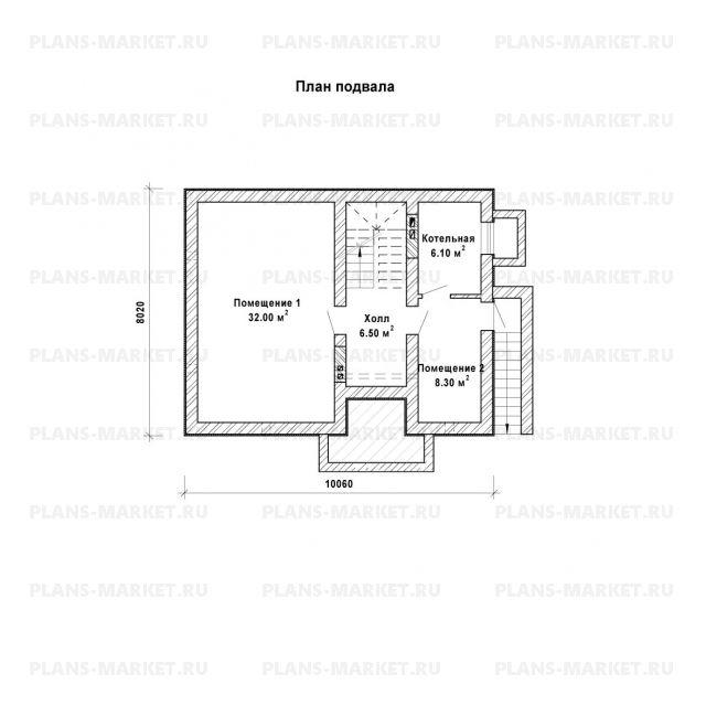 Готовый проект загородного дома Гс-106