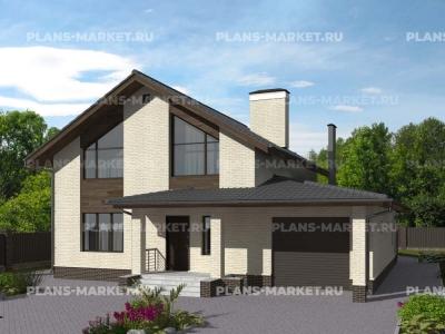 Готовый проект загородного дома Гс-189