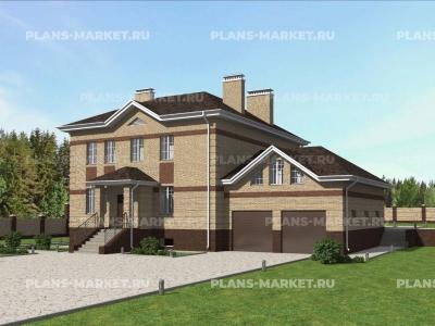 Готовый проект загородного дома К-413