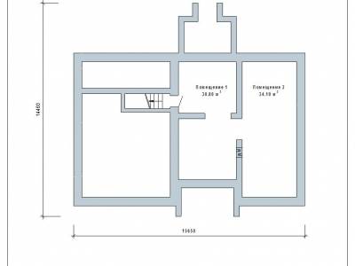 Готовый проект загородного дома К-148-6