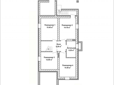 Готовый проект загородного дома К-135