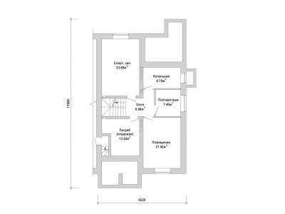 Готовый проект загородного дома К-213