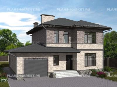 Готовый проект загородного дома Гс-138-1