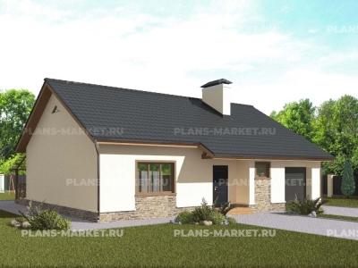 Готовый проект загородного дома Гс-113