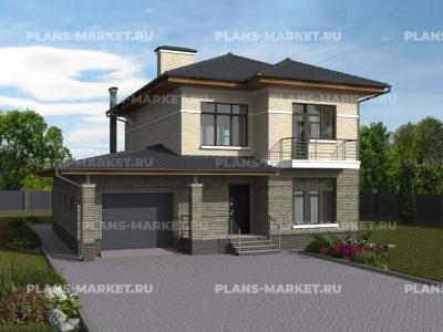 Готовый проект загородного дома Гс-178