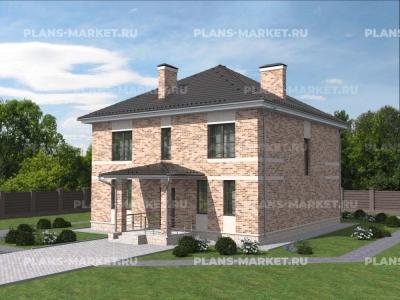 Готовый проект загородного дома К-219