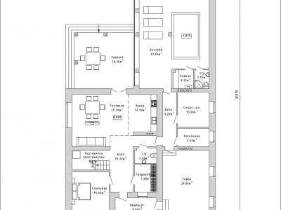 Готовый проект дома К-325