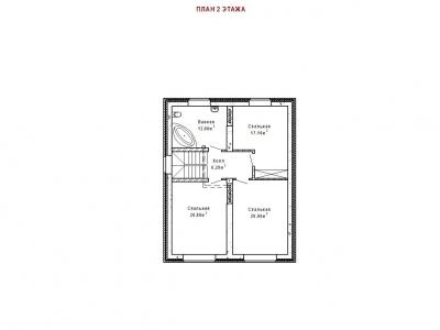 Готовый проект загородного дома Гс-198