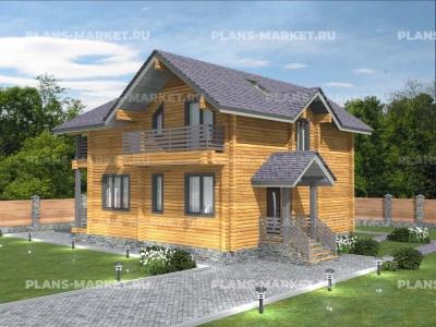 Готовый проект загородного дома Д-131