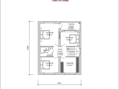 Готовый проект загородного дома Гс-192