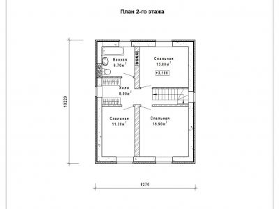 Готовый проект загородного дома гс-157