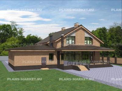 Готовый проект загородного дома К-284