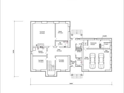 Готовый проект загородного дома К-365