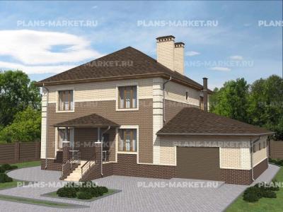Готовый проект загородного дома Гс-207б