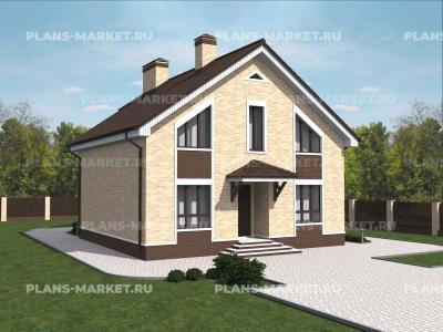 Готовый проект загородного дома Гс-139-1
