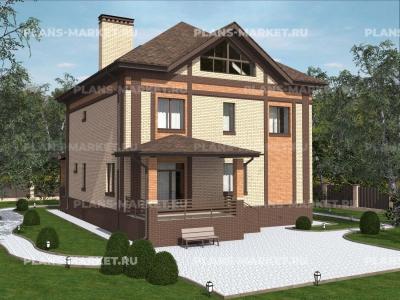 Готовый проект загородного дома К-228